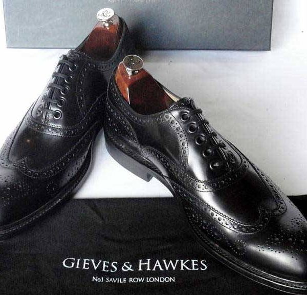 It's on eBay: Gieves & Hawkes Cordovan Wingtips (9UK)