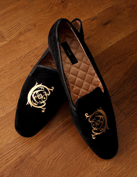 Formal slippers from… wait for it… H&M
