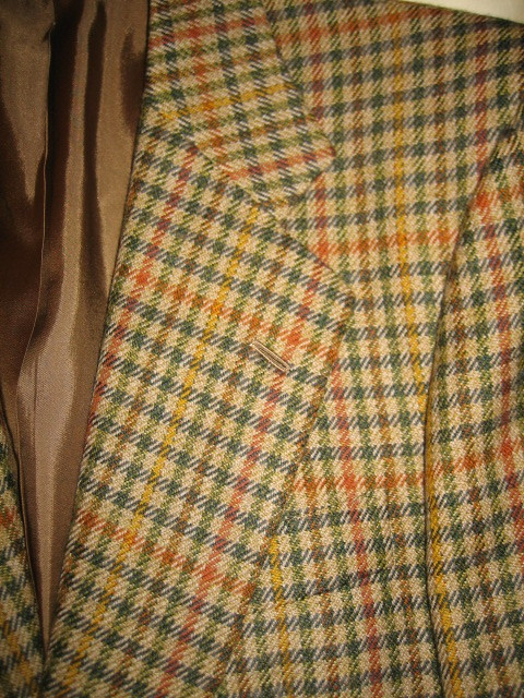 It's On eBay - Swaine Adeney Shetland Cheviot Check Sport Coat (38R)