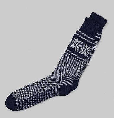 It's On Sale: Snowflake Socks (Made in Vermont)