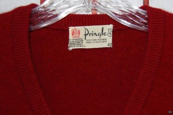 It's On eBay: Vintage Pringle Cashmere Sweater (42)