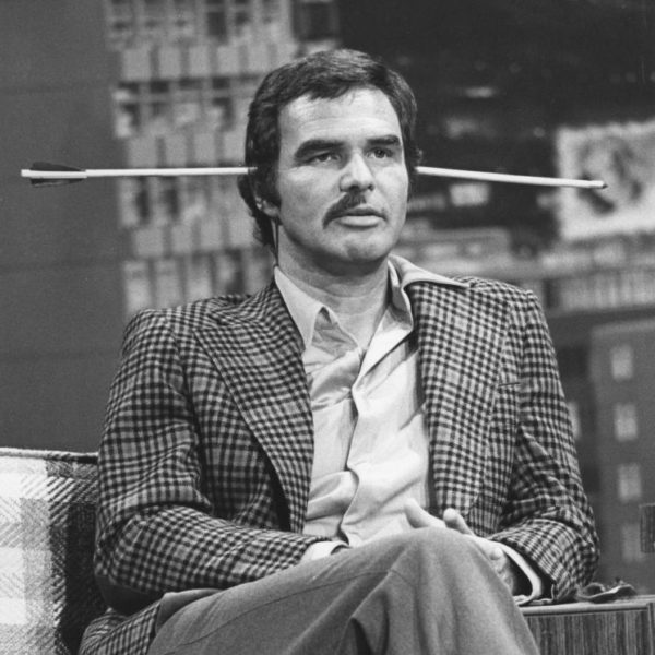When you dare Burt Reynolds, be prepared for anything