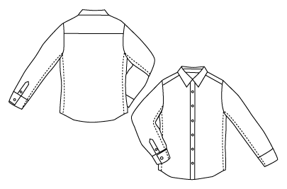 How to tailor a button-down shirt for a perfect fit