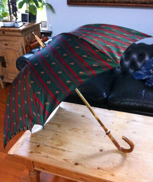 It's On eBay - Swaine Adeney Brigg Umbrella with Custom Canopy