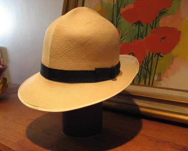 It's On eBay: Vintage Herbert Johnson Panama Hat (7 5/8)
