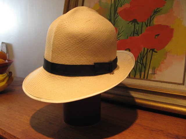 It's On eBay: Vintage Herbert Johnson Panama Hat (7 5/8)