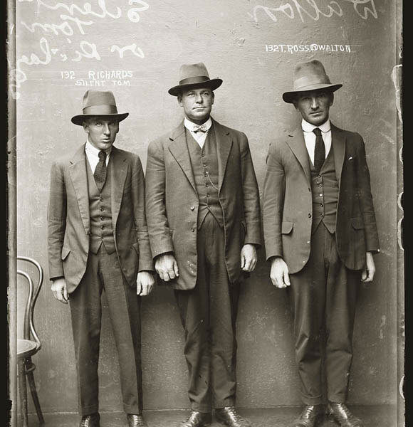 Australian Mugshots from the 1920s from the book City of Shadows: Sydney Police Photographs 1912-1947