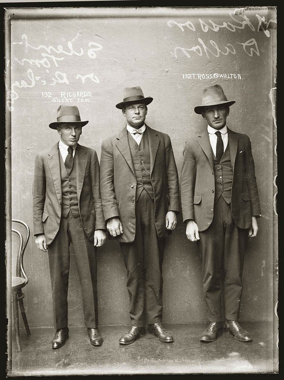 Australian Mugshots from the 1920s from the book City of