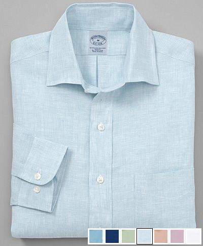 You know what makes summer truly great? Linen shirts.
