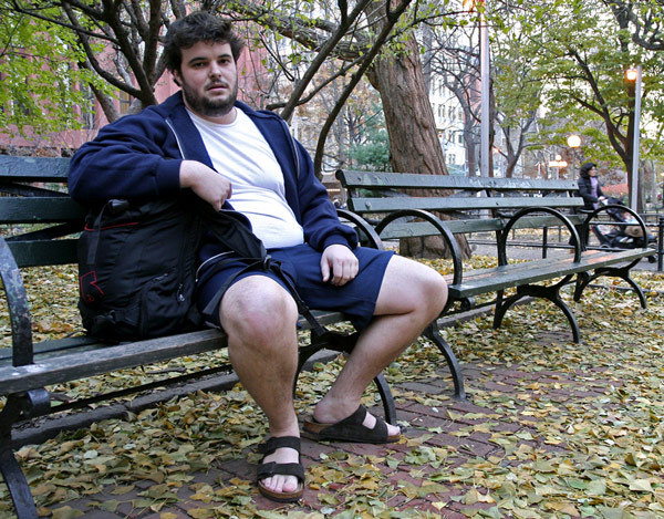 Overweight College Student Announces Plans To Wear Shorts, Sandals For Rest Of Year