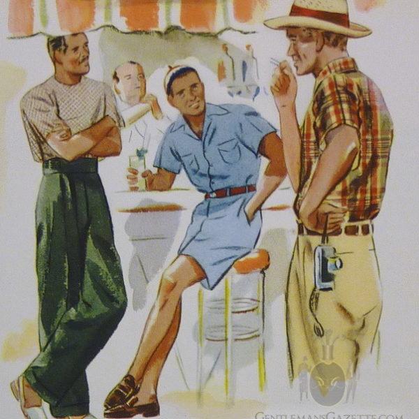 High summer style, circa 1937