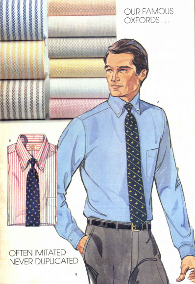 Q and Answer: The Blue Oxford Cloth Button-Down Shirt