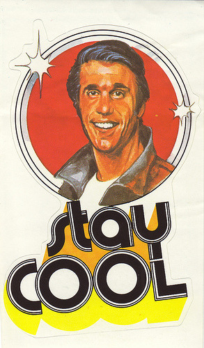 Some weekend wisdom from The Fonz
