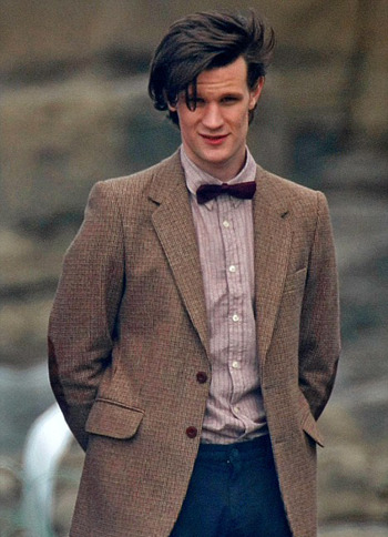 The Chap is reporting that Doctor Who will be wearing… wait for it… Chinese tweed