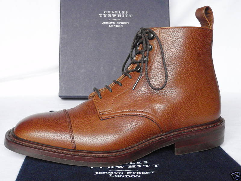 these Charles Tyrwhitt boots are on sale