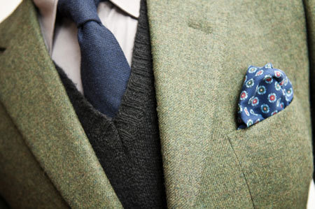 A primer on combining shirts, ties, jackets and squares