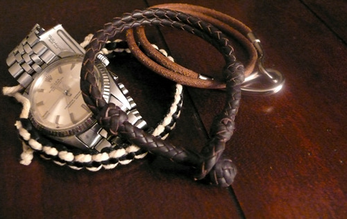 Leather Braiding by John