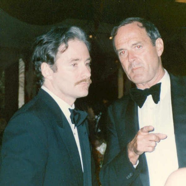 Photos taken backstage at the 1989 Oscars
