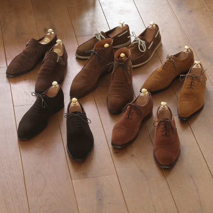 Brown Suede Shoes for Autumn