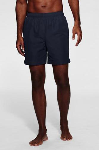 "It's On Sale: <em>Lands' End 6"" Volley Swim Trunks</em>"