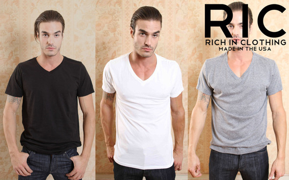 We Got It For Free: Rich in Clothing T-shirts