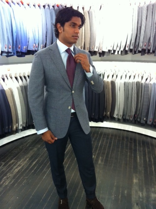 Suit Supply's Made-to-Measure Program