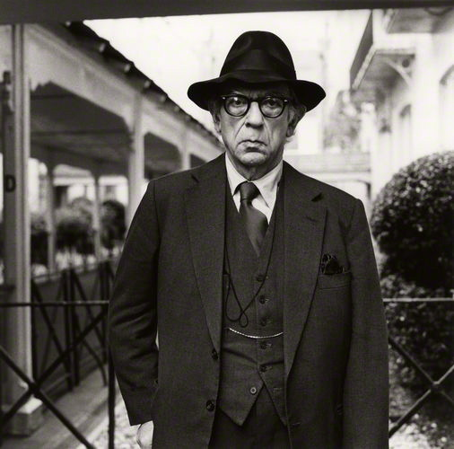 This is Isaiah Berlin in an Anderson & Sheppard suit