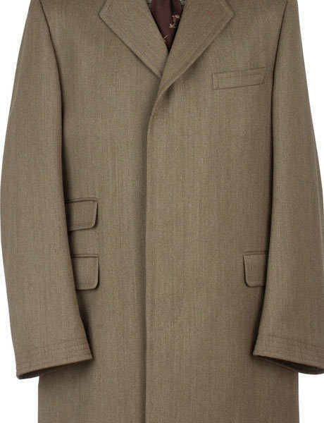 The covert coat at Men's Flair