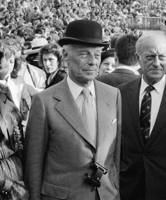 Baron Guy de Rothschild, 1980