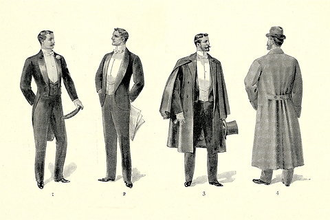 Images from Brooks Brothers' 1896 catalog