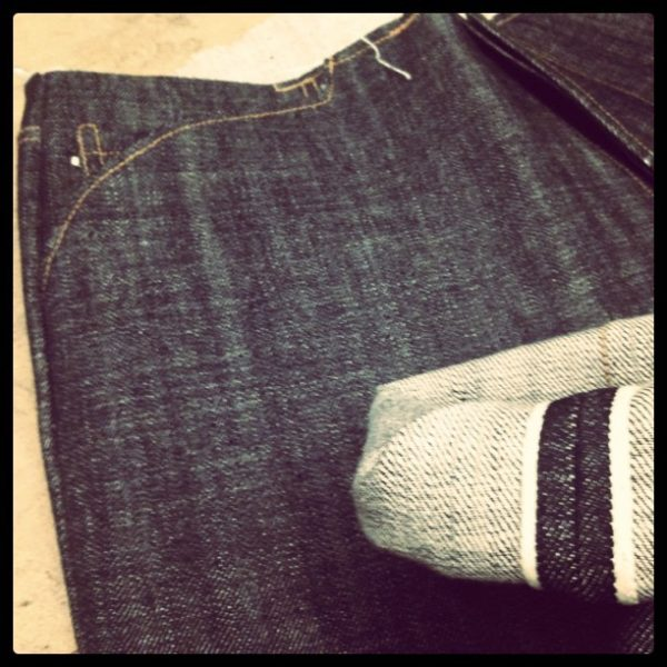 Jack/Knife Japanese Grey Cast Selvedge Denim