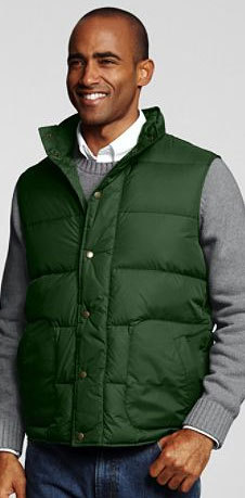 It's On Sale: Lands' End Down Vests $18 Shipped