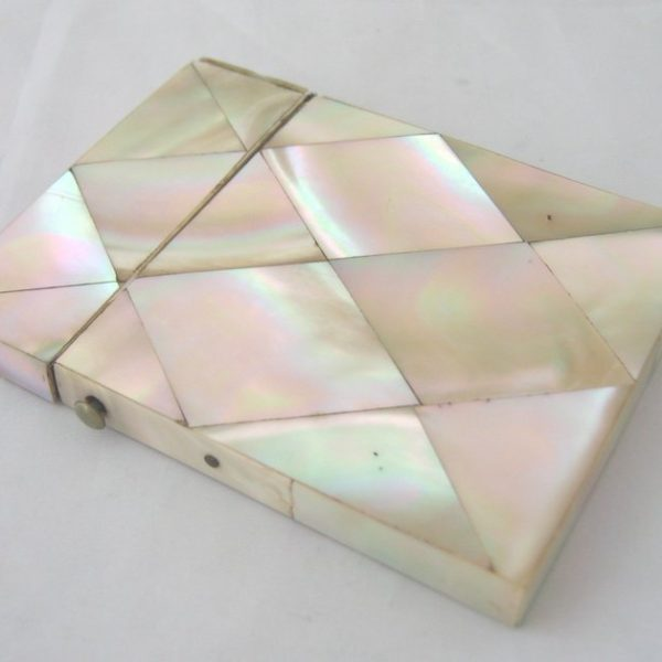 Mother of Pearl Card Cases