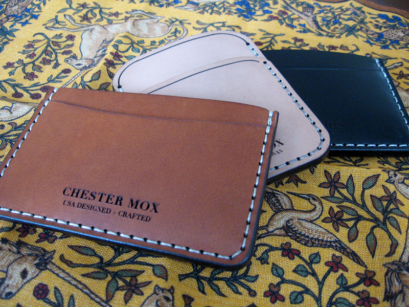 We Got It For Free: Chester Mox Wallets