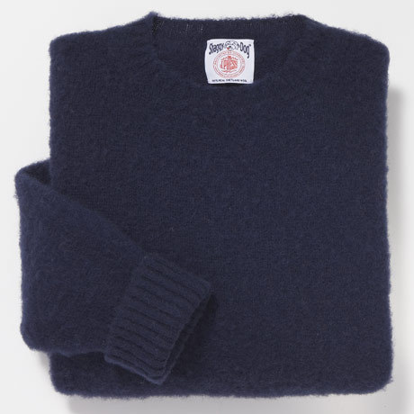 J Press shaggy dog sweaters: $108, down from $180