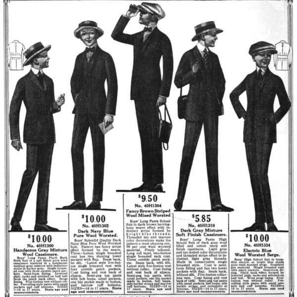 Sears catalogs, published between 1918 and 1920
