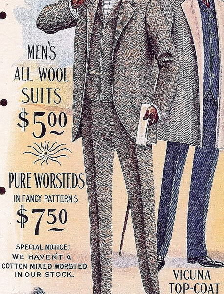 Spring/ Summer collection of 1899