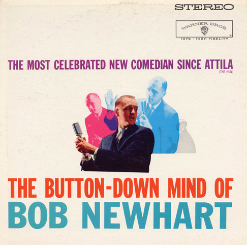 I interviewed the Button-Down Mind himself, Bob Newhart