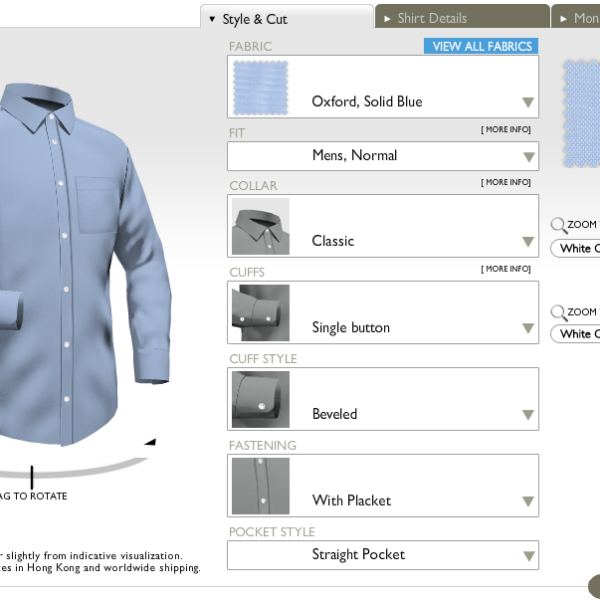 The Custom Shirts Series, Part V: Using Online Tailors