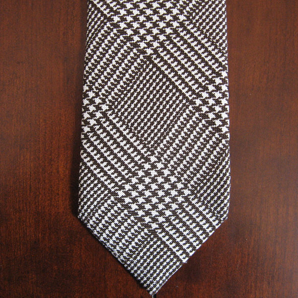 Fixing a Pull on a Silk Tie