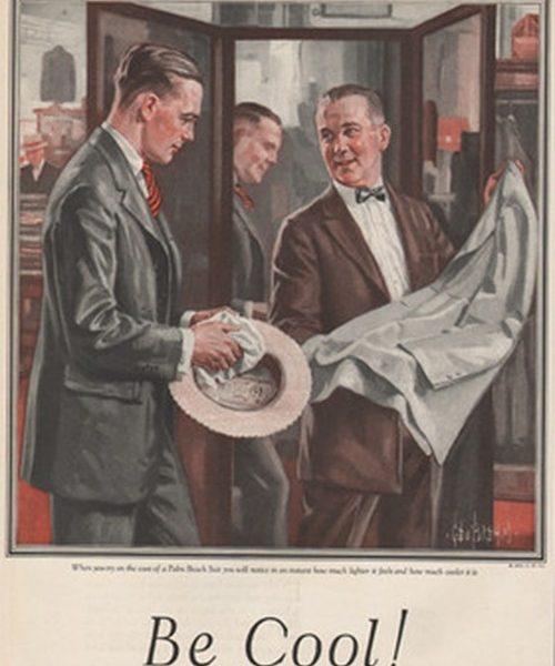 Vintage Palm Beach ads. Be cool!