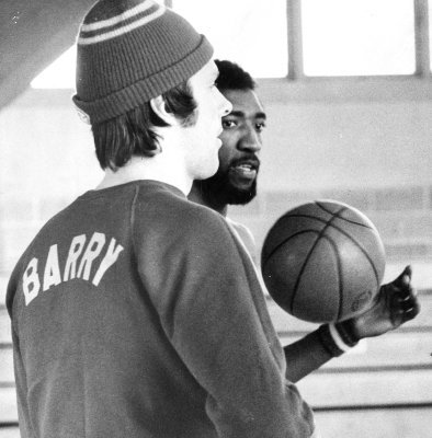 The style of basketball legend Rick Barry