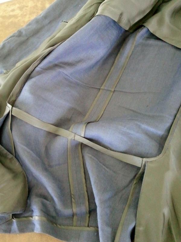 Un-Lining A Jacket