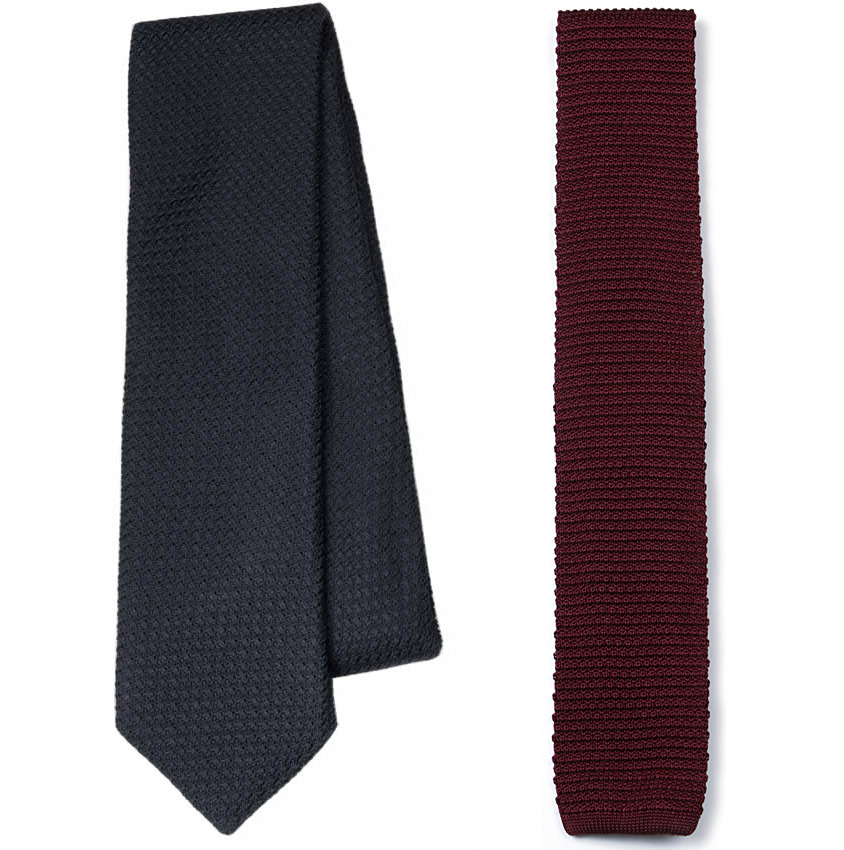 We Got It For Free: The Knottery Grenadine and Silk Knit Ties