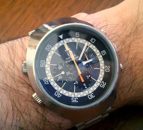 New Watch Alert: Omega Flightmaster Ref. 145.036