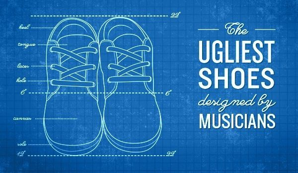 an amazing slideshow of ugly shoes designed by musicians for the CBC Music blog