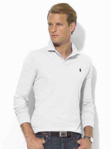 It's On Sale: RL Long-Sleeve Polos