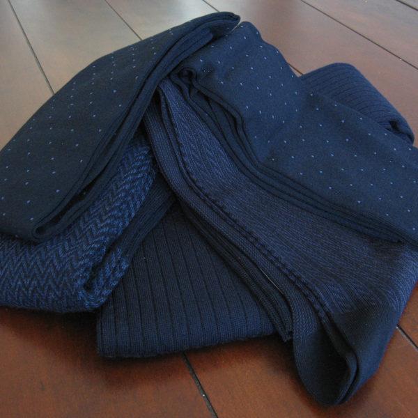 Some New Navy Socks