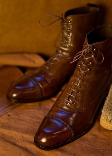 Shell Cordovan for Foul Weather Boots