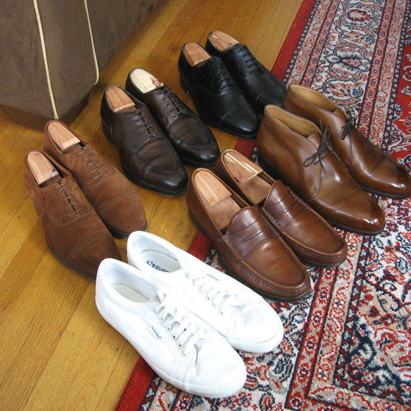 The Seven-Shoe Wardrobe